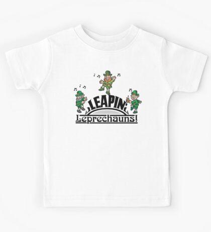 Leaping Leprechauns Kids Tee