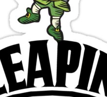 Leaping Leprechauns Sticker