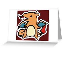 charizard fire Greeting Card