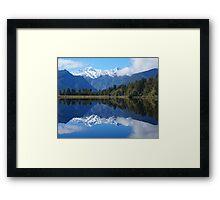Lake Matheson, NZ Framed Print