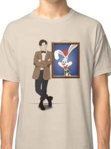 Doctor Who Framed Roger Rabbit Classic T-Shirt