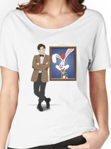 Doctor Who Framed Roger Rabbit Women's Relaxed Fit T-Shirt