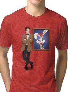 Doctor Who Framed Roger Rabbit Tri-blend T-Shirt