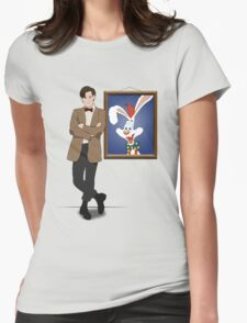 Doctor Who Framed Roger Rabbit Womens Fitted T-Shirt