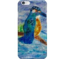Kingfisher Resting iPhone Case/Skin