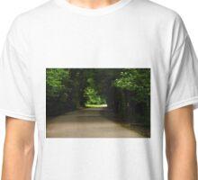 Green Tunnel Drive Classic T-Shirt