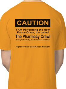 Caution Protest T-shirt Classic T-Shirt