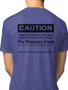 Caution Protest T-shirt Tri-blend T-Shirt