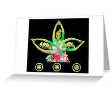 Lotus Dancers Greeting Card