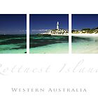 Pinky Beach Rottnest Island by desertsea