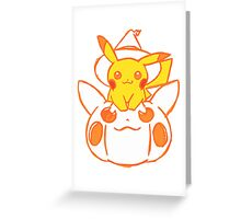 Pika Greeting Card