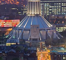 metropolitan cathedral, liverpool by paul mcgreevy