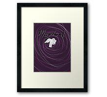 magical white owl  Framed Print