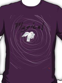 magical white owl  T-Shirt