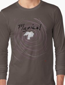 magical white owl  Long Sleeve T-Shirt