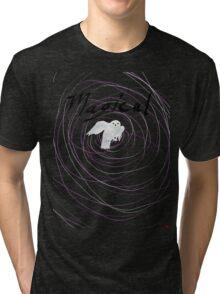 magical white owl  Tri-blend T-Shirt
