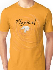 magical white owl  Unisex T-Shirt