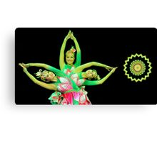 Lotus Dancers Canvas Print