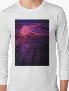 Night Sea Long Sleeve T-Shirt