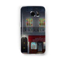Sherlock Speedy's Cafe christmas Samsung Galaxy Case/Skin