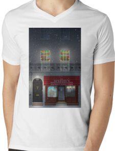 Sherlock Speedy's Cafe christmas Mens V-Neck T-Shirt