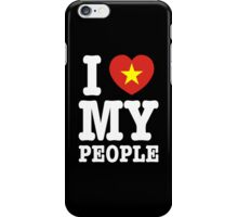 I Heart (Love) My Viet People iPhone Case/Skin
