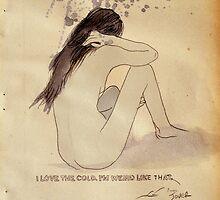i prefer the cold by Loui  Jover