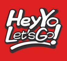 Hey Yo, Let's Go! Kids Tee