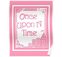 Once Upon A Time in Pink Poster