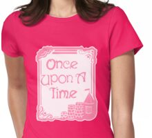Once Upon A Time in Pink Womens Fitted T-Shirt