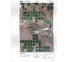 USGS Topo Map Washington State WA Winchester SE 20110425 TM Poster