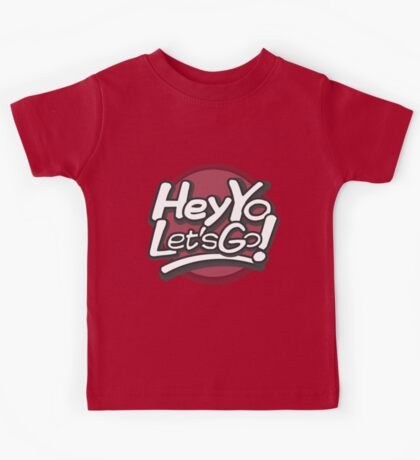 Hey Yo, Let's Go! (with circle) Kids Tee