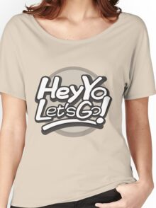 Hey Yo, Let's Go! (with circle) Women's Relaxed Fit T-Shirt