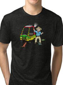 Jurassic Tikes Tri-blend T-Shirt