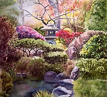 Japanese Tea Garden - San Francisco by Irina Sztukowski
