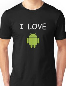 Love Android1 Unisex T-Shirt