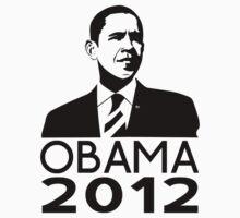 Obama 2012 by imjesuschrist