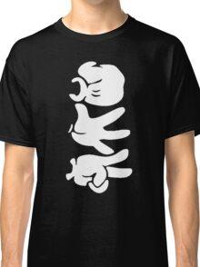 Rock Paper Scissors (White) Classic T-Shirt