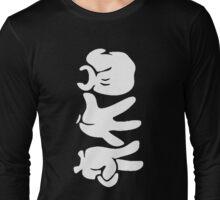 Rock Paper Scissors (White) Long Sleeve T-Shirt