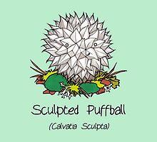 Sculpted puffball by Cartoon Neuron