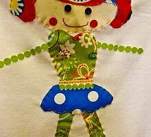 Fabric Dolly by mamasita