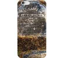 Abram Miles iPhone Case/Skin