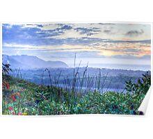 Misty Arakwal Dawn - Byron Bay Poster
