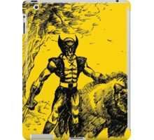 Wolverine Ink Illustration iPad Case/Skin
