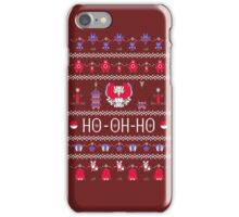 HO-OH-HO iPhone Case/Skin