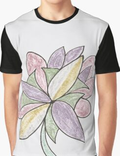 Carnivaled Flowers (a Bouquet of Pastel Colours) Graphic T-Shirt