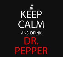 steins gate keep calm and drink dr pepper anime manga shirt Unisex T-Shirt