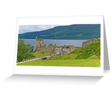 Urquart Castle on Loch Ness Greeting Card