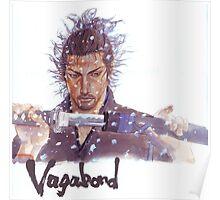 Miyamoto Musashi - Vagabond - Raw Poster