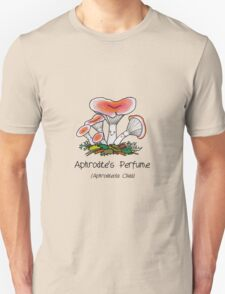 Aphrodite's perfume (with smiley face) Unisex T-Shirt